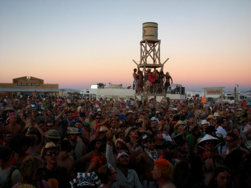 Thousands of abnormal persons are converging on the Burning Man safe zone